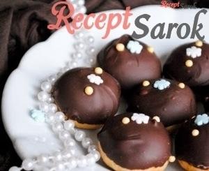 Csokoládés minipuszedli