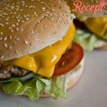 Egy nagyon finom házi hamburger