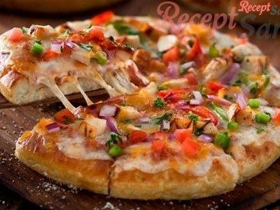 Mexikói-darálthúsos pizza