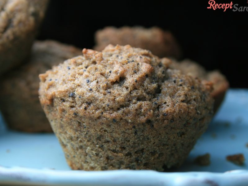 Paleolit mákos muffin