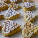 Vanília pudingos gofri recept